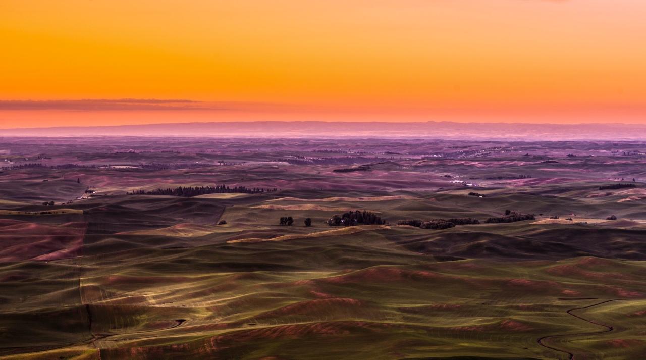 Sunrise over Palouse2