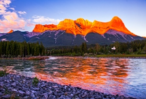 Canmore sunrise 2