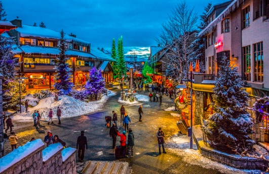 christmas eve in Whistler (1 of 1)